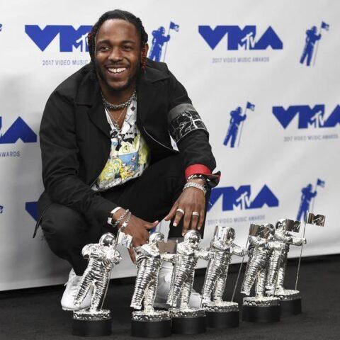 Kendrick Lamar é o grande vencedor de premiação da MTV