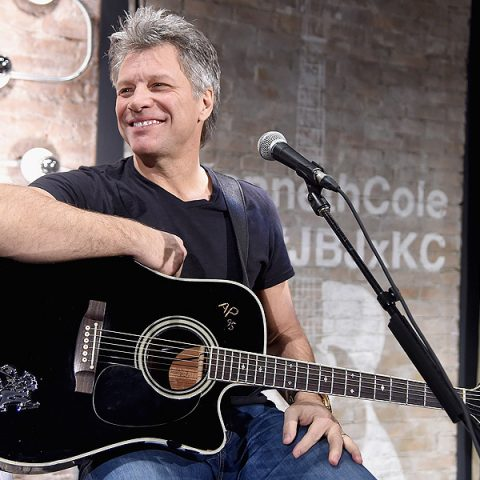 Jon Bon Jovi fará parte do Hall da Fama do Rock em 2018