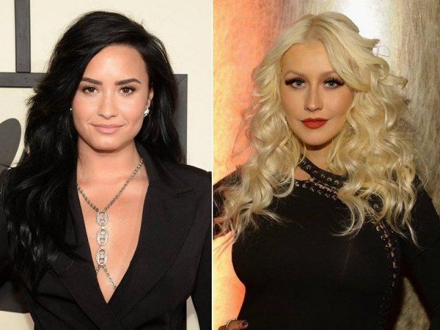 """Assista ao clipe de """"Fall in Line"""", novo single de Christina Aguilera e Demi Lovato"""
