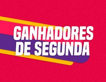 GANHADORES DE SEGUNDA – 14/10