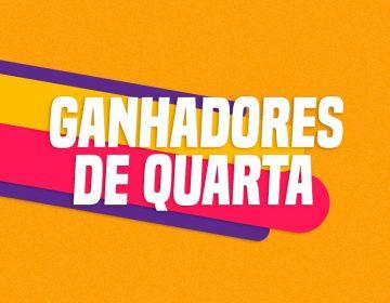 GANHADORES DE QUARTA – 20/02