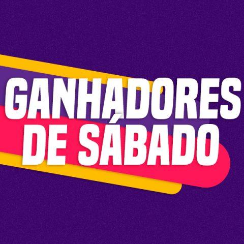 GANHADORES DE SÁBADO – 14/03