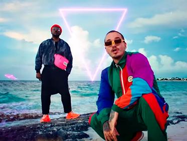 Confira a parceria de Black Eyed Peas e J Balvin