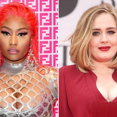 Cantora Nicki Minaj confirma que vai lançar parceria com Adele
