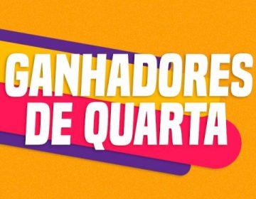 GANHADORES DE QUARTA – 11/03
