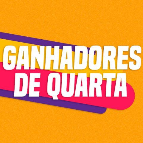 GANHADORES DE QUARTA – 30/09