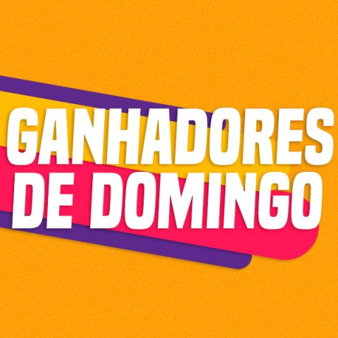 GANHADORES DE DOMINGO – 04/10